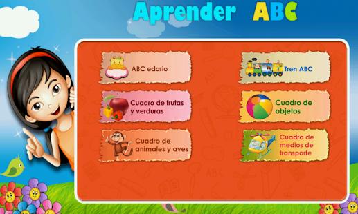 Kids Learn Spanish ABC Lite