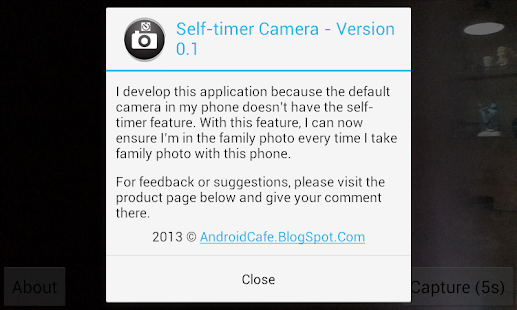 Self-timer Camera- screenshot thumbnail