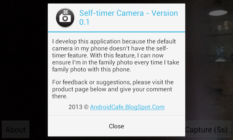 Self-timer Camera- screenshot