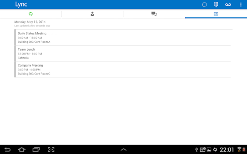 Skype for Business for Android Screenshot 21