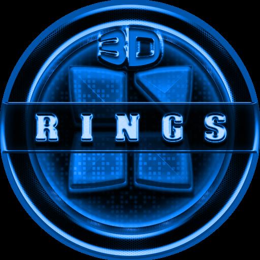 Next Launcher 3D RingsB Theme
