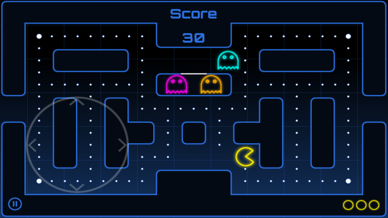 Neon Maze - screenshot