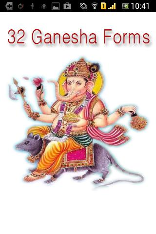 Ganesha Forms 32