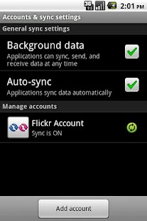 Flickr Sync - screenshot thumbnail