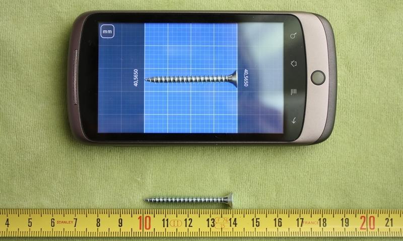 Millimeter - screen ruler app screenshot #1