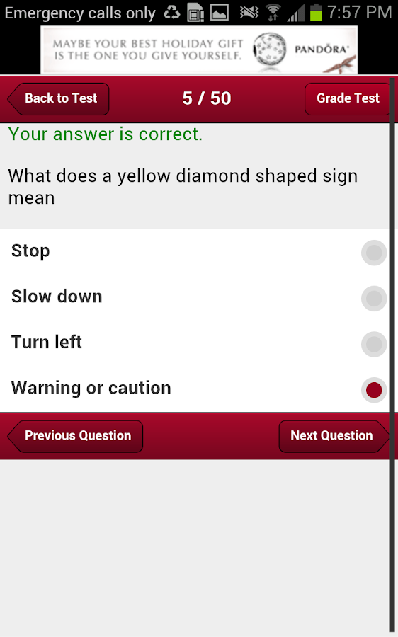 Mississippi Driving Test- screenshot