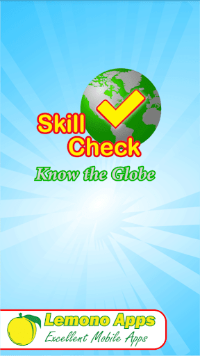 SkillCheck - Know the Globe