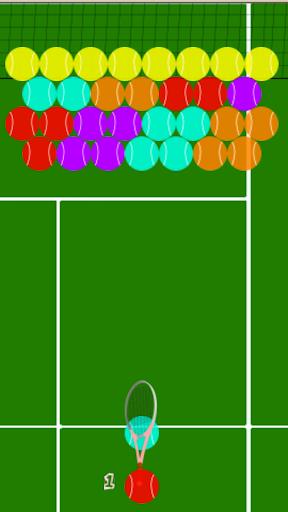 網球泡沫射手