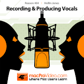 Reason 6 - Recording Vocals