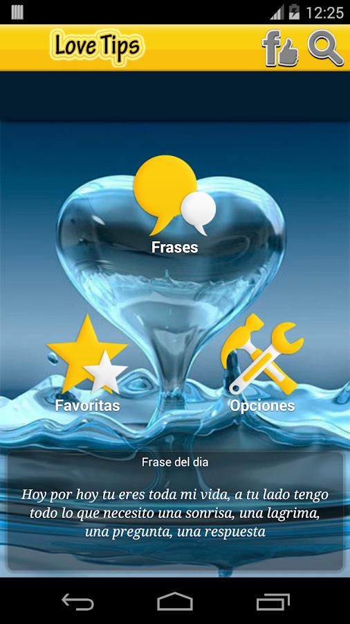 Frases de Amor Bonitas- screenshot