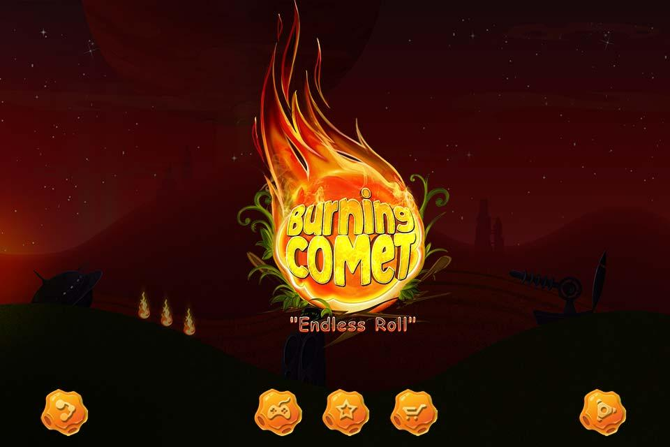 "Burning Comet ""Endless Roll""- screenshot"