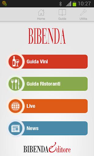 BIBENDA 2014 LA GUIDA