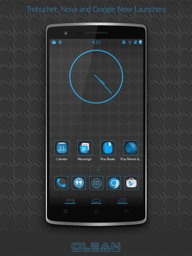 BigDX Clean Theme CM11 AOKP- screenshot