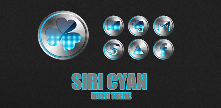 siri Cyan Multi Theme v1.2 apk