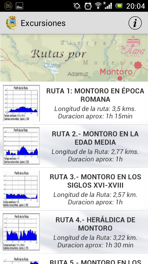 MontoroTurismo - screenshot