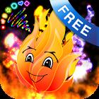 Doodle Fire Fuoco scarabocchio icon