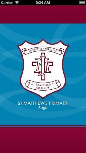 St Matthew's Page