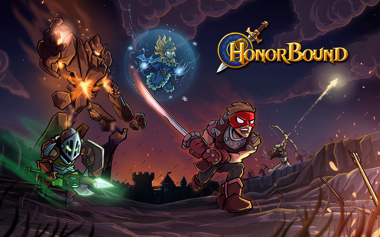 HonorBound (RPG)- screenshot