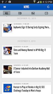 Kansas Jayhawks - screenshot thumbnail
