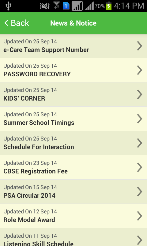 Franciscan e-Care- screenshot