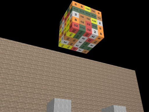 Smash The 2048 Blocks 3D