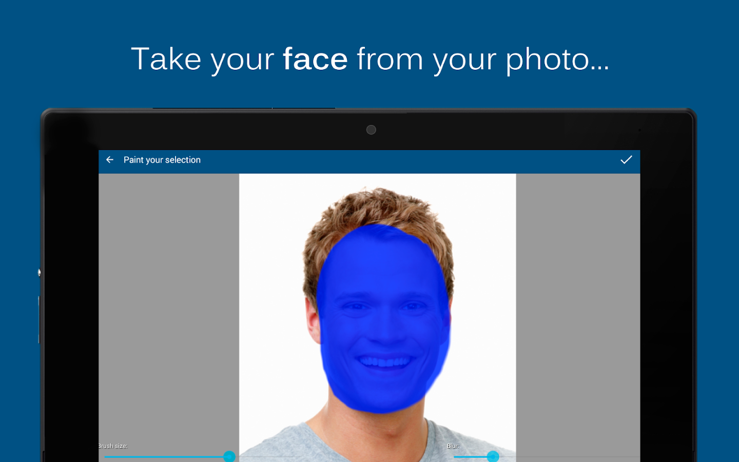 PhotoFacer - Face Montages- screenshot