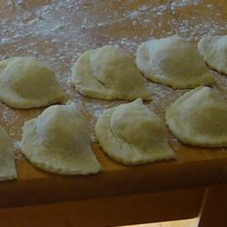 Cottage Cheese Perogies.