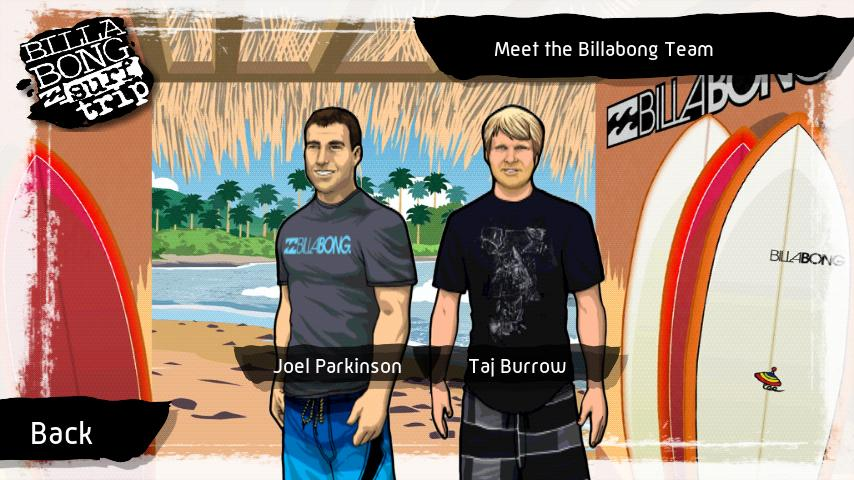 Billabong Surf Trip - screenshot