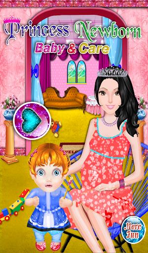 新生嬰兒的公主遊戲