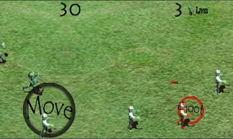 Screenshot of Zombie Shooter