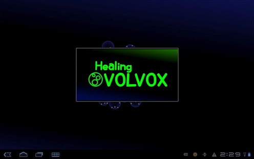 Healing VOLVOX +LiveWallpaper- screenshot thumbnail