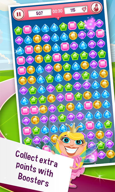 Diamond Crusher FREE - screenshot