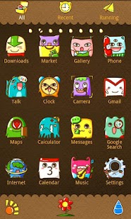 Monster Theme GO Launcher EX - screenshot thumbnail