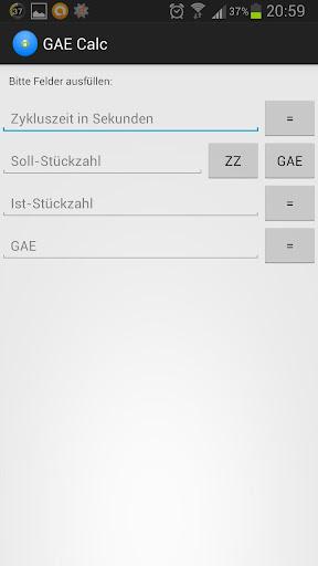 GAE Calc