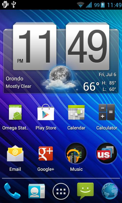 ICS StatusBar - screenshot