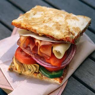 Focaccia Sandwiches.