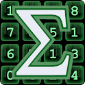 Sum Matrix Numbers Puzzle icon