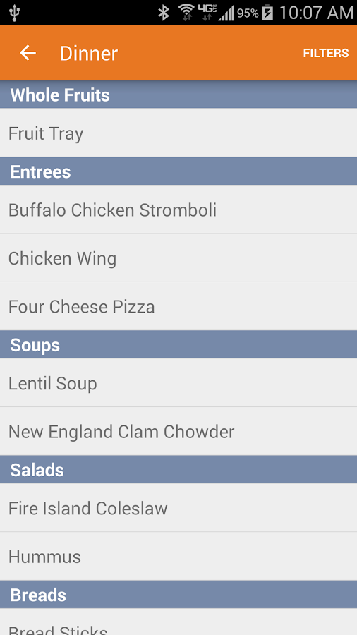 UI Dining- screenshot