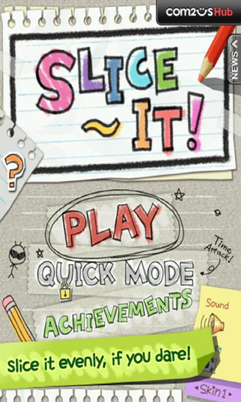 Slice It! - screenshot