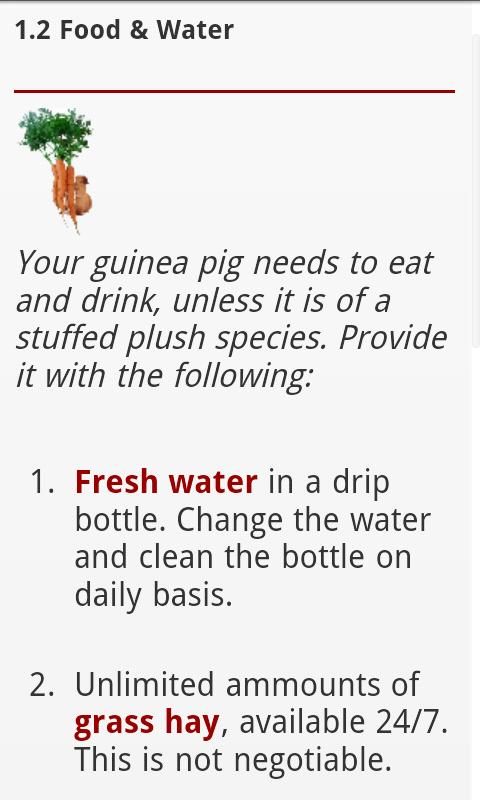 Guinea Pig Manual- screenshot