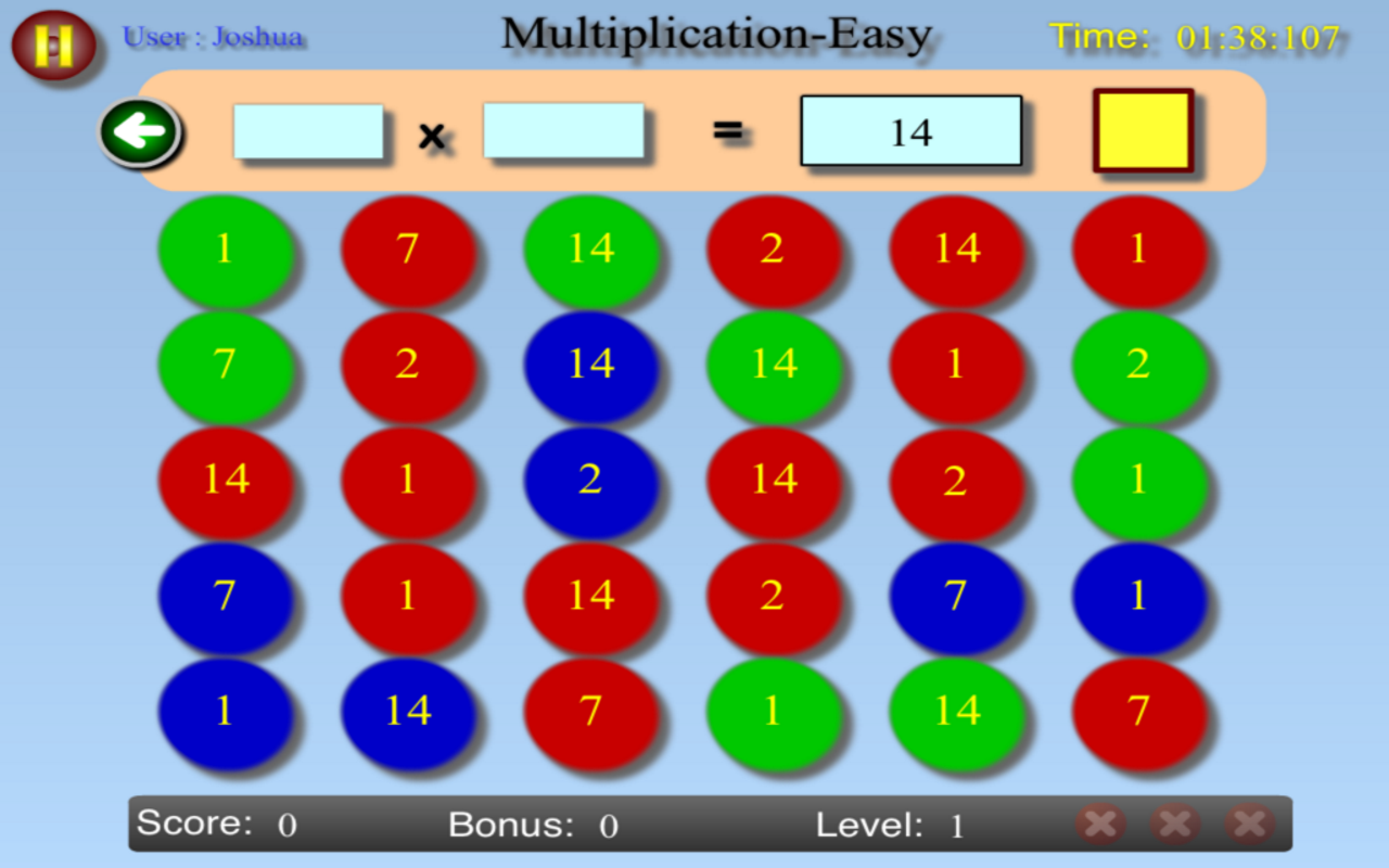 Math Rush - screenshot