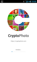 Screenshot of CryptoPhoto