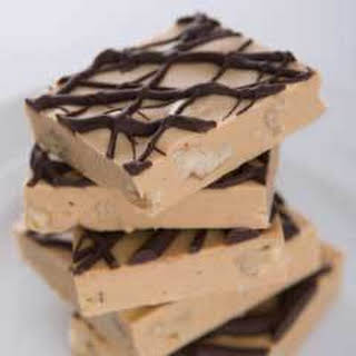 Peanut Butter White Chocolate Fudge.