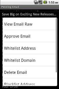 DOEmail- screenshot thumbnail