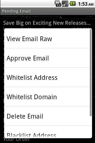 DOEmail- screenshot