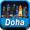 Doha Offline Map Travel Guide icon