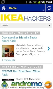 IKEA Hacks - screenshot thumbnail