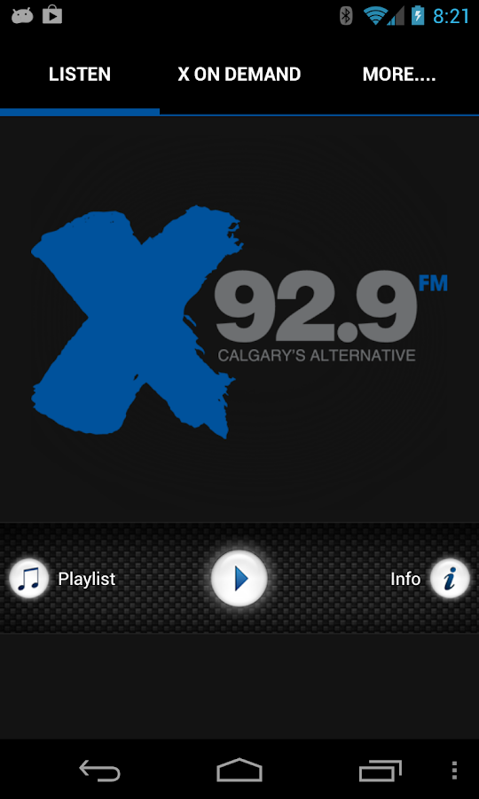X92.9fm - screenshot