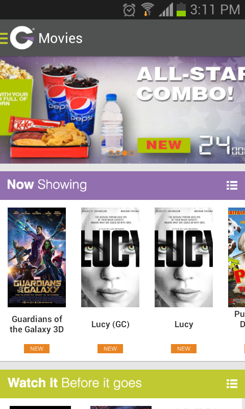 Grand Cinemas Kuwait- screenshot
