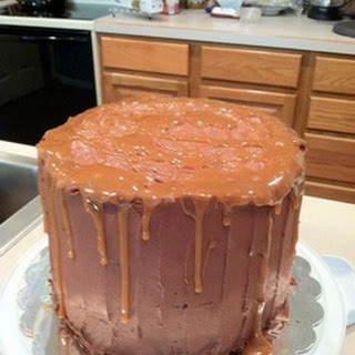 Chocolate Salted Caramel Cake Recipe